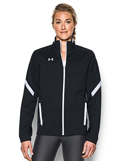 1b8293f32 Under Armour Women's UA Qualifier Knit Warm-up Jacket at Amazon Women's  Clothing store: