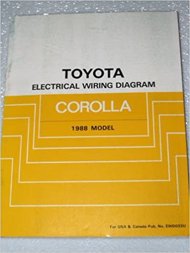 Remarkable 1988 Toyota Corolla Electrical Wiring Diagrams Ae92 Series Toyota Wiring Digital Resources Bemuashebarightsorg