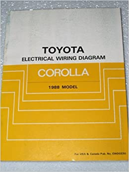 1988 toyota corolla electrical wiring diagrams ae92 series toyota books. Black Bedroom Furniture Sets. Home Design Ideas