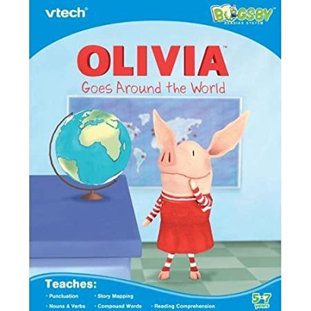 Amazon.com: VTech Bugsby Reading System Book - Olivia: Toys & Games