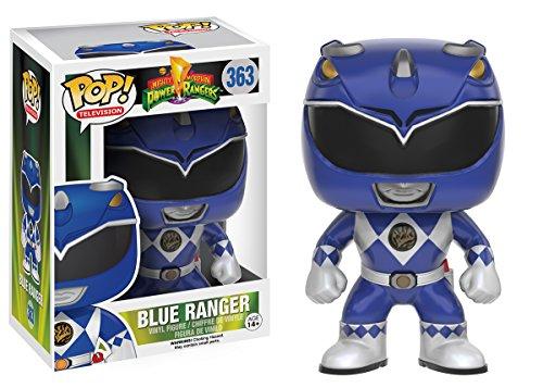 Funko POP TV: Power Rangers - Blue Ranger Action Figure (Power Ranger Costume Blue)