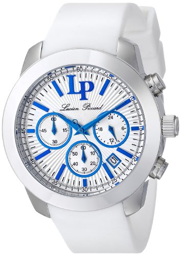 Lucien Piccard Women's LP-12938-23S Belle Etoile Analog Display Japanese Quartz White Watch