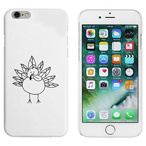 Weiß 'Neugieriger Truthahn Vogel' Hülle für iPhone 6 u. 6s (MC00043950)