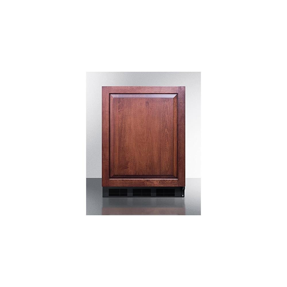 Summit CT663BBIIFADA Series 24 Inch Freestanding Counter Depth Compact Refrigerator in Panel Ready Tjernlund Products Inc.