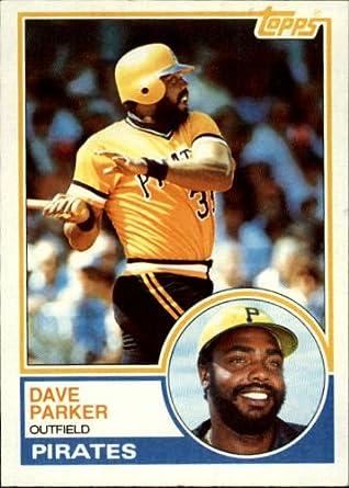 Amazoncom 1983 Topps Baseball Card 205 Dave Parker Mint