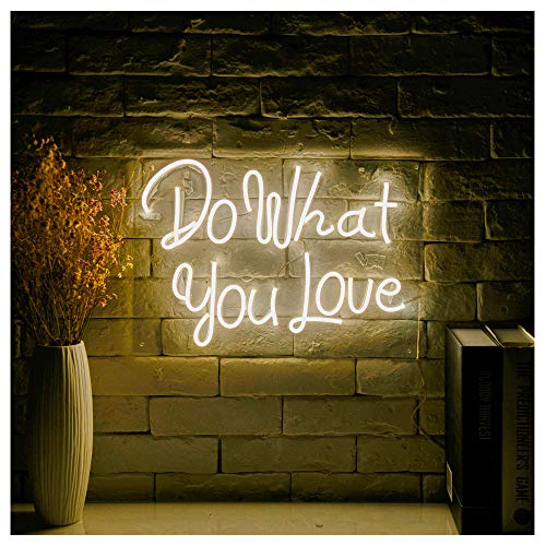 Do What You Love LED Neon Sign Lights Art Wall Decorative Lights16.5