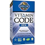Garden of Life Multivitamin for Men - Vitamin Code Men's Raw Whole Food Vitamin Supplement with Probiotics, Vegetarian, 240 Capsules