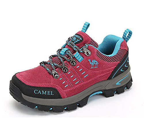 Camel Women's Outdoor Walking Shoes Color Red Size 36 M EU