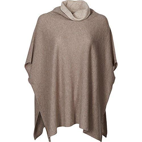 kinross-cashmere-contrast-cowl-poncho-m-l-doeskin-mink
