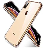 AINOPE Compatible iPhone Xs Max Case,[Crystal Clear] Shock Absorption with 4 Corners Protection, Protective Cover with Soft Scratch-Resistant TPU Compatible iPhone Xs Max 6.5 inch 2018