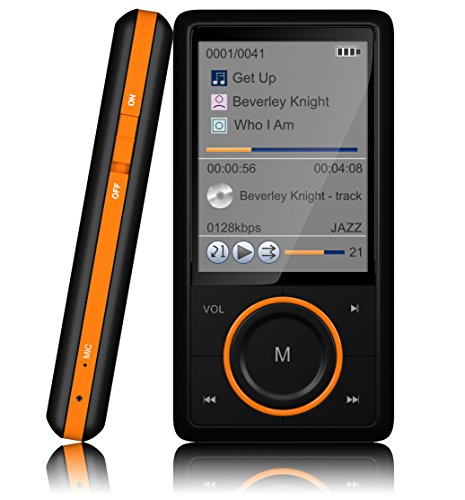 kubik evo 8gb mp3 player with radio and expandable microsd sdhc slot black buy online in uae. Black Bedroom Furniture Sets. Home Design Ideas