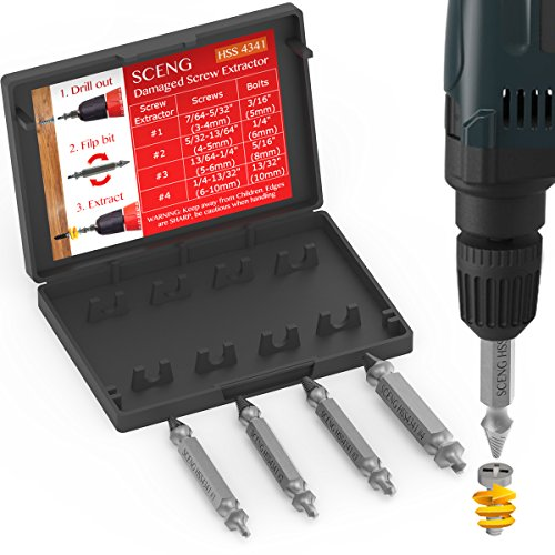 Out Screw Extractor Set - 5
