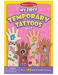 Melissa & Doug My First Temporary Tattoos: 100+ Kid-Friendly Tattoos - Rainbows, Fairies, Flowers, and More