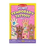 Melissa & Doug My First Temporary Tattoos: 100+ Kid-Friendly Tattoos - Rainbows, Fairies, Flowers, and More