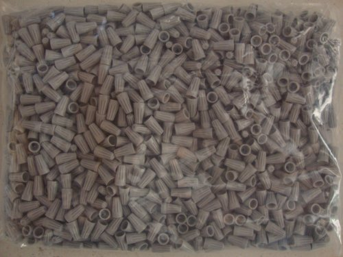 Grey Electrical Wire Connectors UL - 1000 PACK