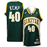 adidas Men's Shawn Kemp Seattle SuperSonics Retired Player Swingman Jersey