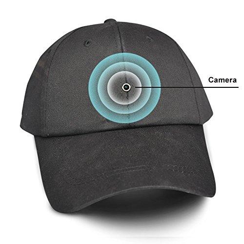 Fuvision 8gb New Video Recording Cap Mini Spy Camera Hat