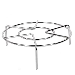 Pressure Cooker Trivet Food Vegetable Steamer Shelf Metal Wire Steaming Rack Tray Basket Stand Pressure Cooker Wok Pan Kitchen Gadget 2-3/8'' Height