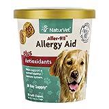 NaturVet 79903690 Aller-911 Allergy Aid Plus Antiox Soft 70 Ct
