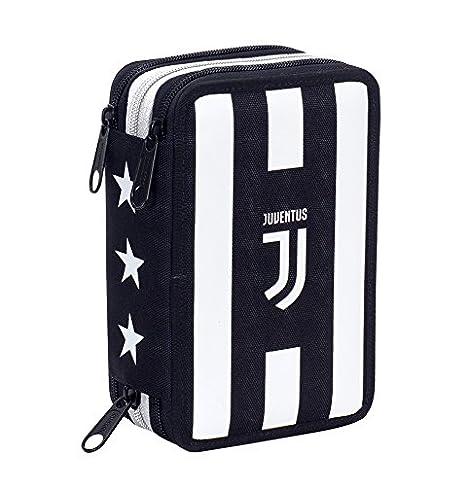 cdd9d5c612 Astuccio 3 Zip , Juventus FC , ASSIST , Con CONTENUTO: matite, pennarelli .