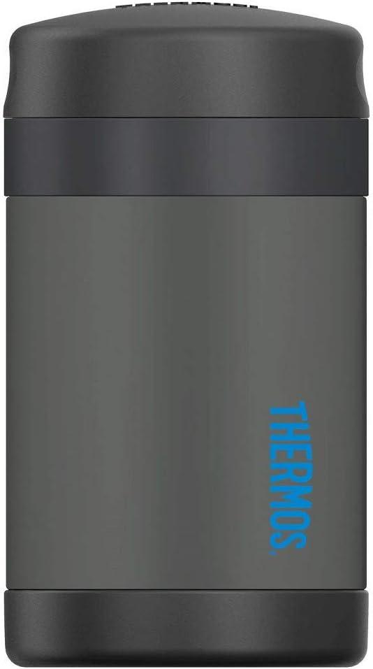 Thermos Stainless Food Jar with Spoon - Smoke (16oz)