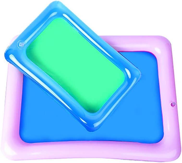 Ogquaton Plage de plaque de bac /à sable PVC gonflable jouant plateau enfants jouet couleur al/éatoire portable et utile