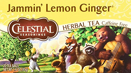 Celestial Seasonings Jammin Ginger Herbal