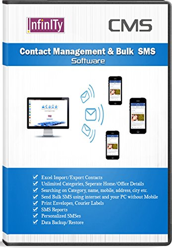 Infinity CMS - Bulk SMS, Envelope Printing, Label Printing, Contact