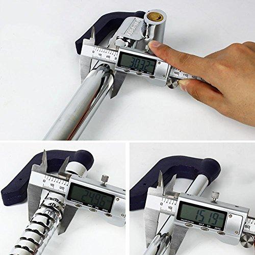 MIAO Car Steering Wheel Lock - Car Security Brake Lock,Anti-Theft Throttle Clutch Lock with Key 3 by miaomiao (Image #6)
