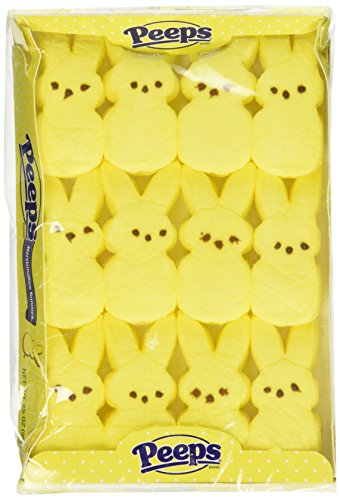 Marshmallow Peeps Yellow Easter Bunnies