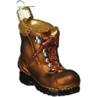Old World Christmas Hiking Boot Glass Blown Ornament