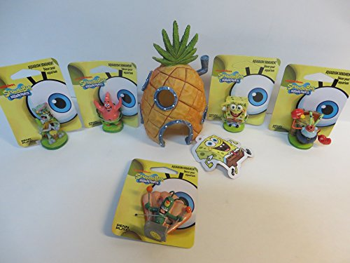 spongebob-aquarium-ornaments-6-piece-set