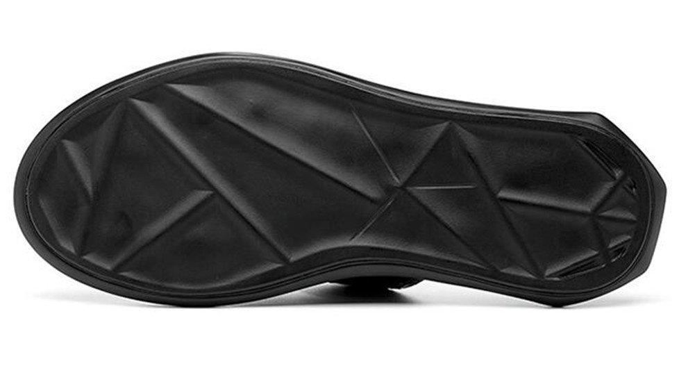 Männer Sandalen Leder bis Strand Slipper Weben Mode Größe 38 bis Leder 45 - e3a577