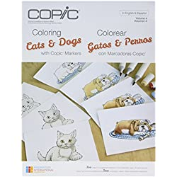 Copic Marker CBCATS N/A Copic Books-Coloring Cats & Dogs
