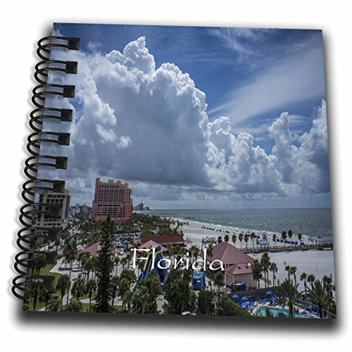 3Drose Florida   Image Of Clearwater Beach From High Balcony   Mini Notepad 4 X 4 Inch  Db 255523 3