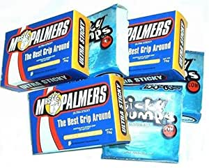 Mrs. Palmers and Sticky Bumps Surf Wax Combo 6 Pack