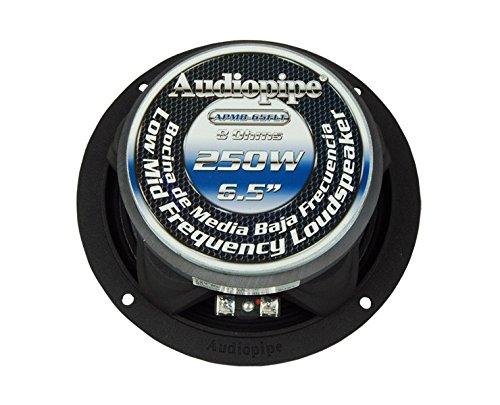 "APMB-65FLT 6.5"" 250 Watt Flat Design Low Mid Frequency Loudspeaker CAR AUDIO"