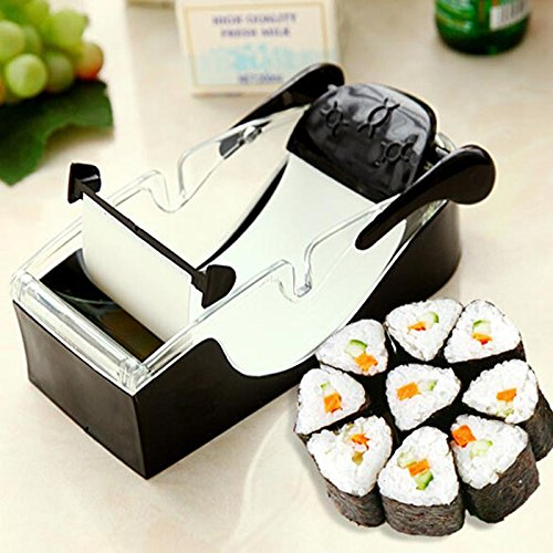 JD Million shop 2017 New Kitchen Sushi Roller Perfect Magic Roll Easy Sushi Maker Cutter Roller DIY Kitchen Perfect Magic Onigiri Roll Tool (Easy Diy Halloween Recipes)