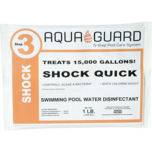 AquaGuard 1 Pound Trichloro Shock Quick Package Of 30