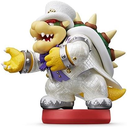 Amazon Com Amiibo Bowser Super Mario Odyssey Video Games