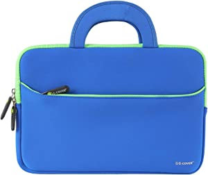 11.6 inch Laptop Case Laptop Sleeve Bag Lightweigh Slim Computer Carrying Case Compatible for Notebook and Computer Protective Case (Blue)