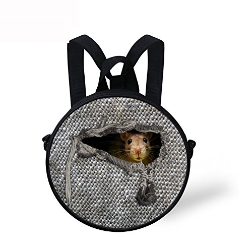Girls Print Circle Women for Round Cute for body Bag Cross and Backpack FashionPaint W8CCA5422I Women gqwpBZ