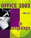 Office 2003 in Easy Steps, Stephen Copestake, 1840782641