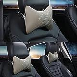 Sedeta® 1 PCS Apoyo para la cabeza del asiento de coche del amortiguador del cojín de espuma de memoria almohadilla del recorrido del cuello de la ayuda del resto almohadas de coches para niños pequeños alm