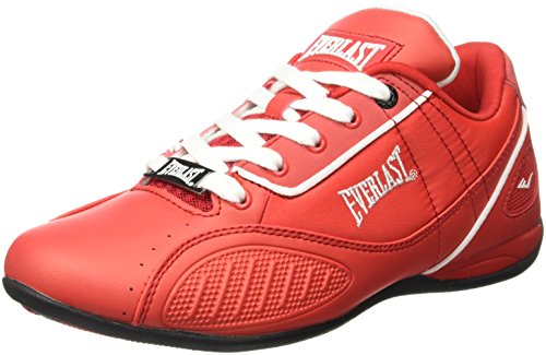 Everlast Punch EL-1507 tenis de Boxeo Unisex, color Rojo/Blanco, 24.5