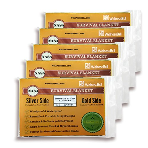 Emergency Thermal Survival Blankets WellnessBell product image