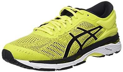 Asics Gel-Kayano 24, Zapatillas de Running para Hombre, Amarillo (Sulphur Spring/Black/White 8990), 40.5 EU
