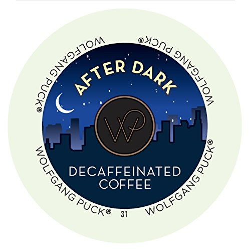 Wolfgang Puck After Dark Decaf Coffee Single Serve Cups (48 Count)