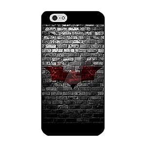 Iphone 6 Plus/6s Plus 5.5 Inch Shell Case Manga Film Batman Hardwearing Phone Case With Batman Logo Pattern
