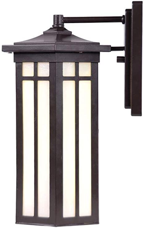 NEW Home Decorators Collection Antique Bronze Outdoor LED Small Wall Light